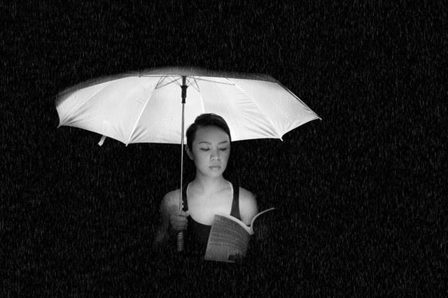 blackwhiteumbrella